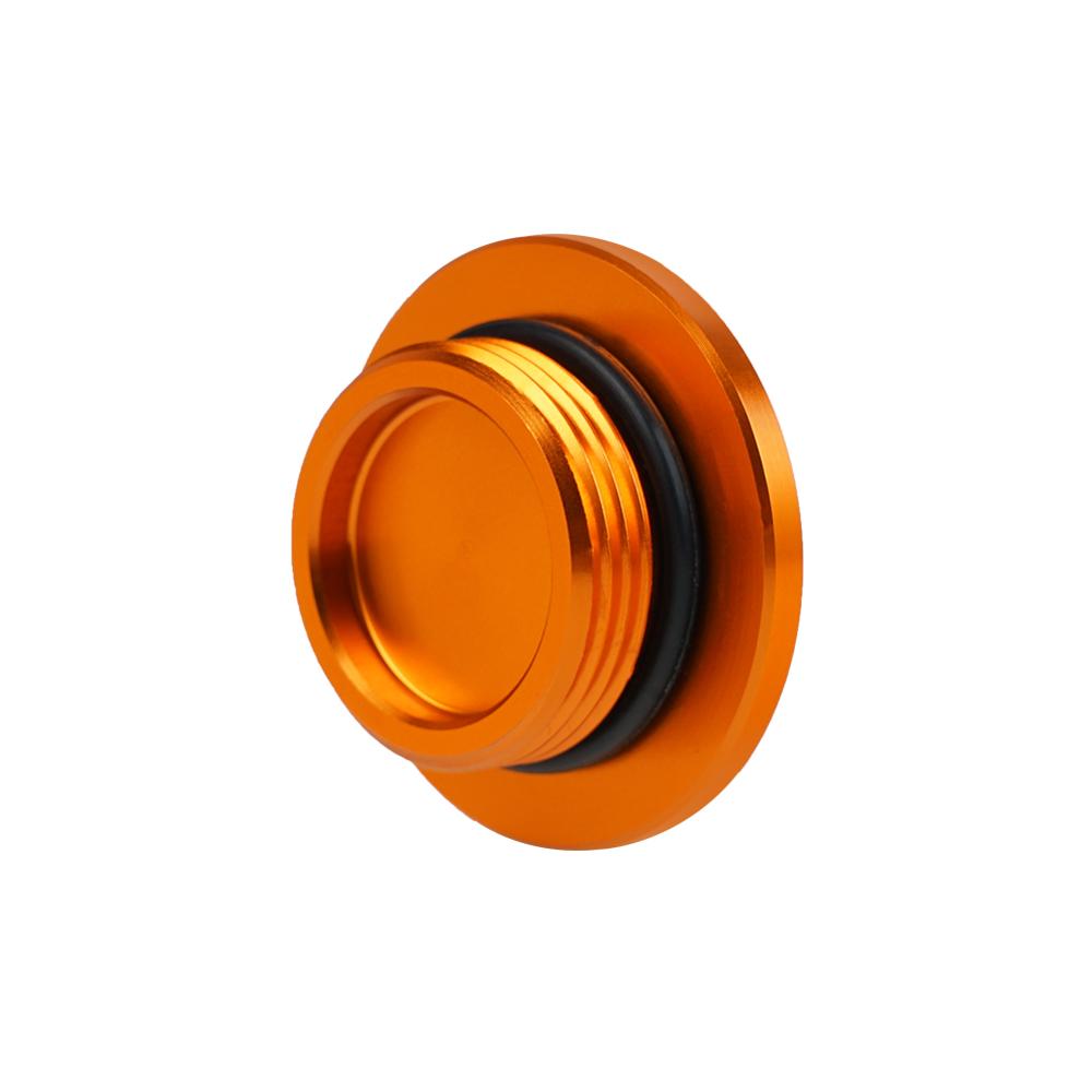 Orange Ignition Cover Plug For Ktm 1190 Adventure   R 12