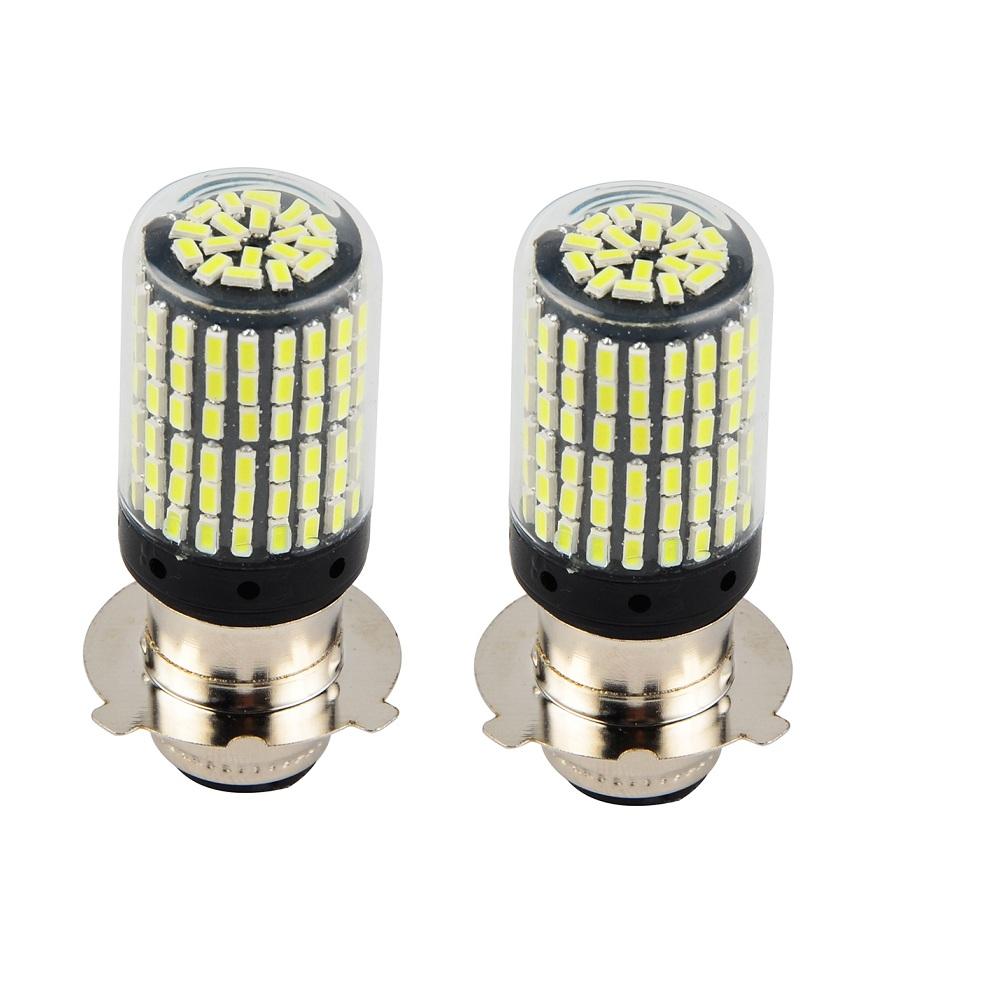 LED Headlight Bulbs White For Honda TRX200SX 1986-1988 TRX250 FourTrax 85 86 87